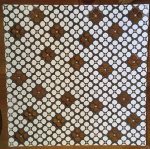 MM - Diecut Paper Geometric Mocha