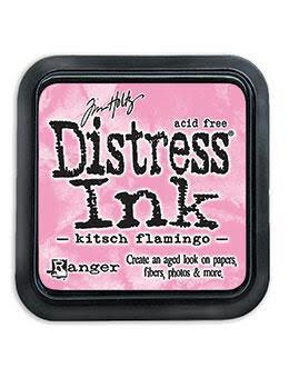 R - Distress Ink Pad - kitsch flamingo