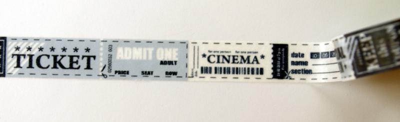 Washi - Ticket