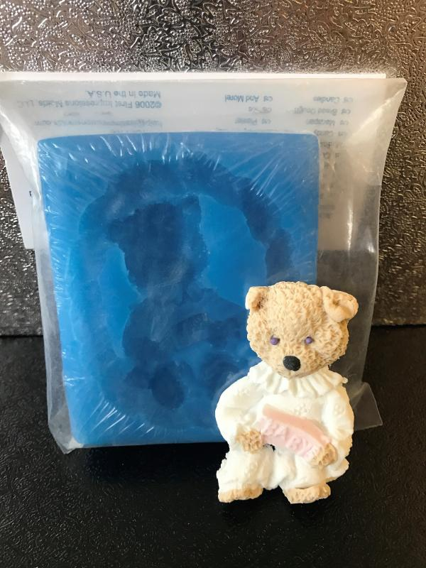 Siliconmould Girl Bear