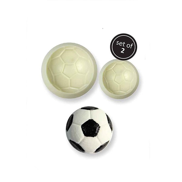 JEM Pop It Mould - Football - 2 Piece