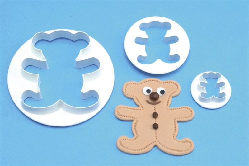 PME 3 Set Teddy Cutters