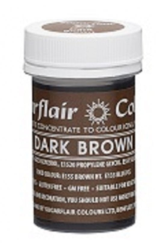 Sugarflair Brown Paste Colours  25g