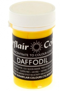 Sugarflair Yellow Paste Colours  25g