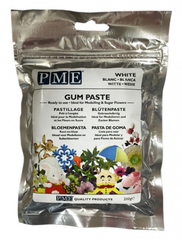 PME Gum Paste - White - 200g