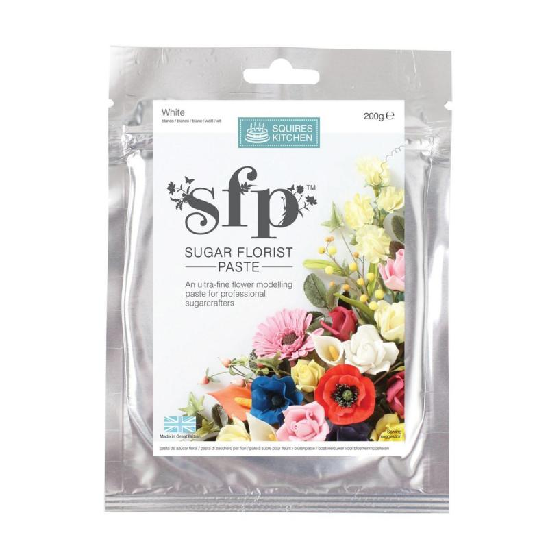 Squires Sugar Florist Paste (SFP) - White - 200g