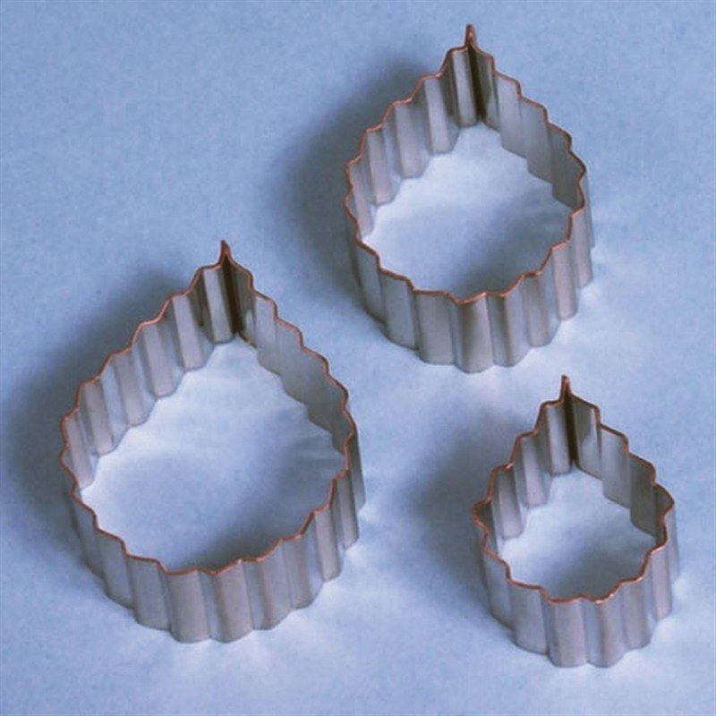 Rose Leaf Cutters Serrated