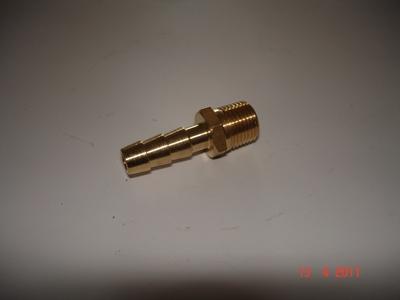 """Nippel 1/8"""" 6 mm slang"""