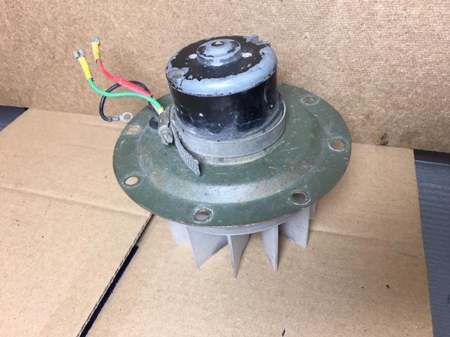 Fan motor incl Fan (Used) 24 V