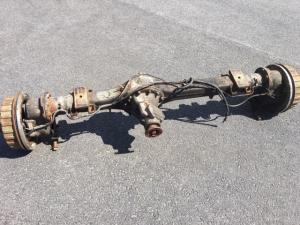 Rear axle used TGB 11 ratio 5,95:1