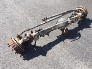 Front axle used complete ratio: 7,56:1