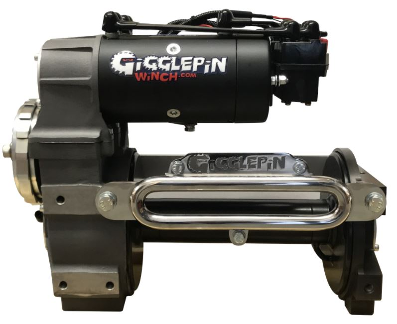 GIGGLEPIN GP100 Dubbelmotor tävlings vinsch