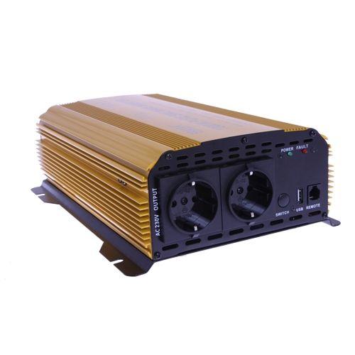 INVERTER 24V 1000W 2.1A USB
