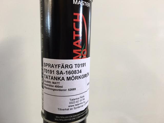 Sprayfärg Mörkgrön