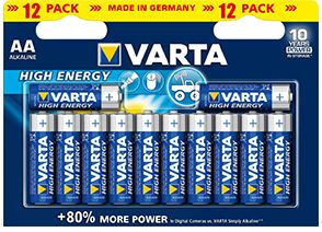Battery AA/LR6 High Energy