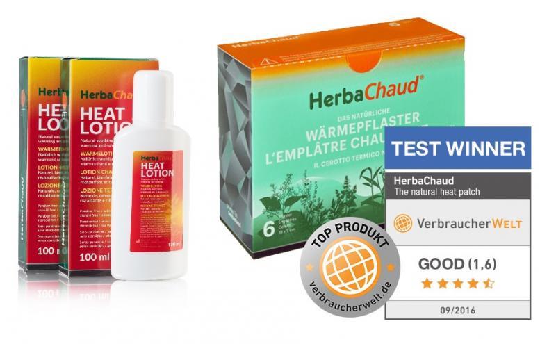 HerbaChaud Värmeplåster & Lotion