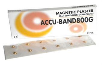 Accu-Band Kroppsmagnet, guldpläterad