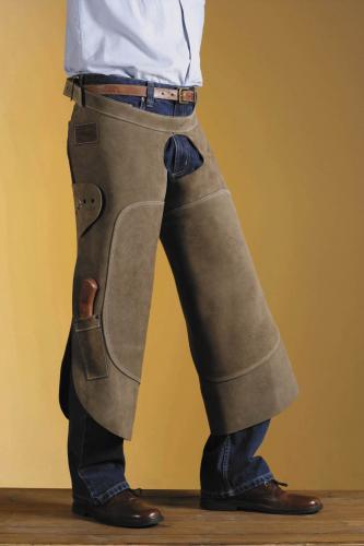 Hovslagarförkläde Standard Top Wrap-Round Open Front Gibbins