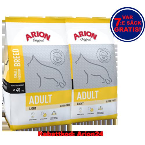Adult All Breeds Light Arion 12Kg 2-Pack
