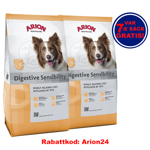 Digestive Sensibility Arion Health & Care 12Kg 2-pack!