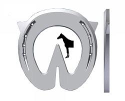 Heartbar Feelblack Aluminium Fram