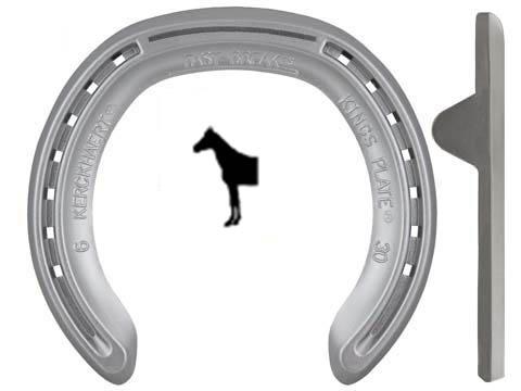 Kings Plate Extra Sound Fast Break Aluminium Fram med Quarter Sidokappor