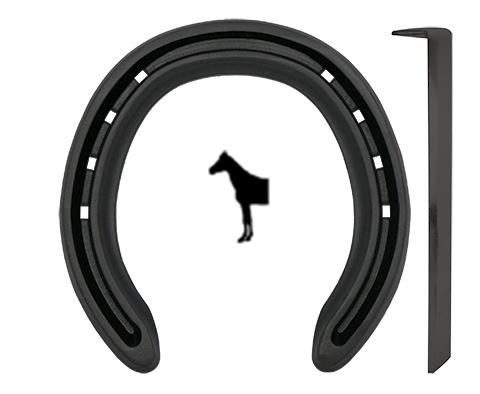Steel Kings Pony Fram med Tåkappa