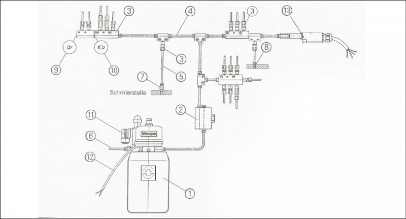 Enledningssystem Schematisk skiss