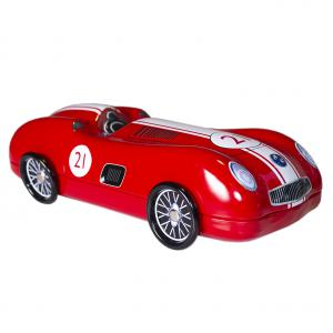 Bilburk, Racing car röd