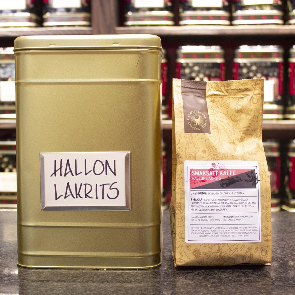 Hallon Lakrits Kaffe
