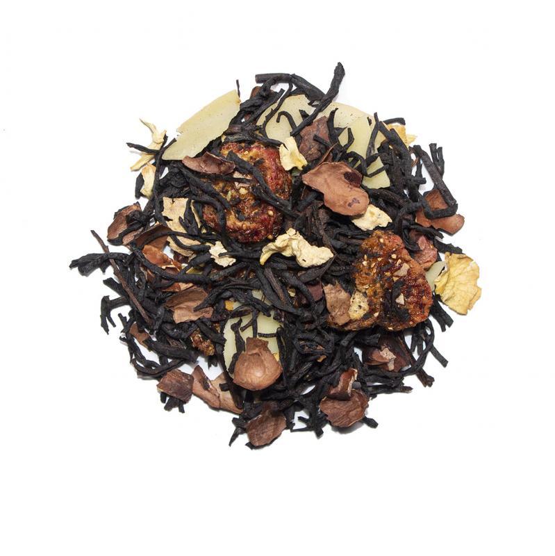 Choklad Mandel, Ekologiskt te