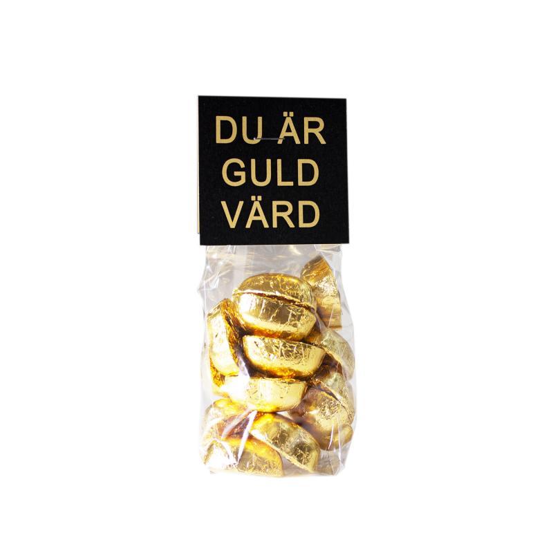 Chokladhjärtan Guld