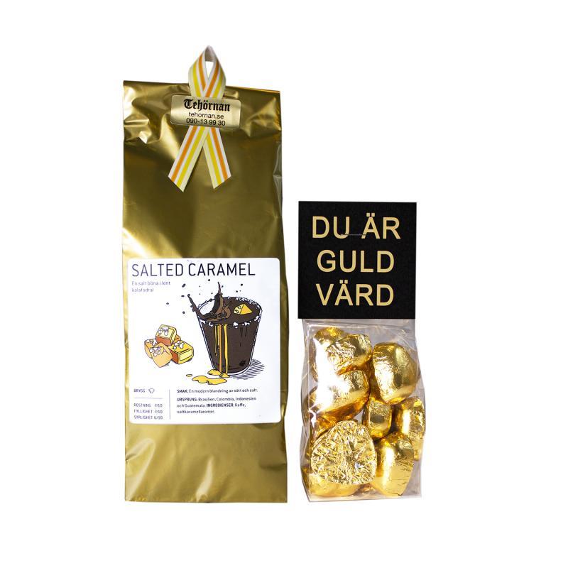 Du är guld värd, presentpaket