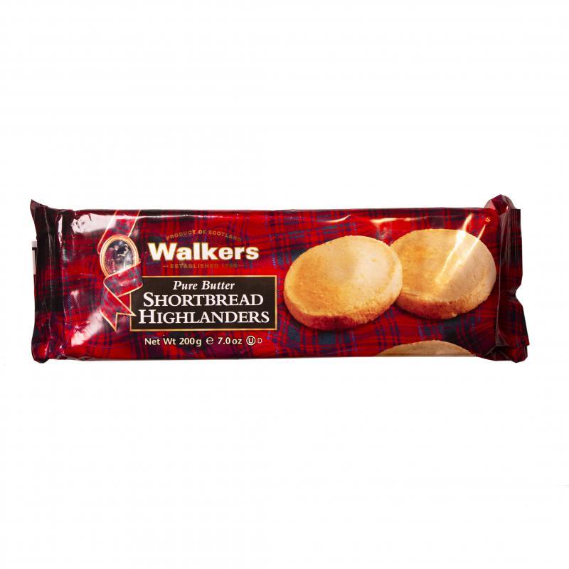 Walkers Shortbread Highlanders, Mördegskakor