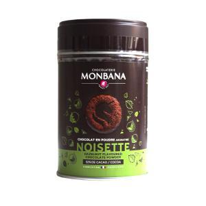 Drickchoklad Monbana, Hasselnöt
