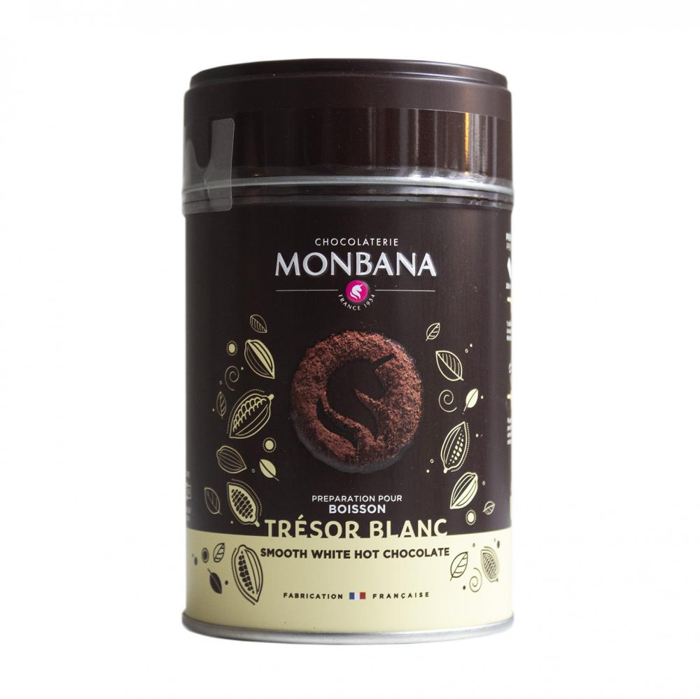 Drickchoklad Monbana, Vit choklad