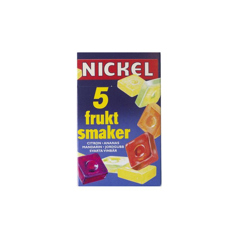 Nickel, Frukt smaker