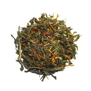 Saffran, grönt te