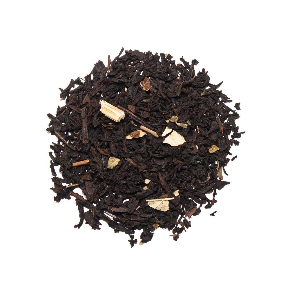 Smultron, svart te
