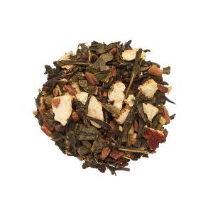 Glöggte, grönt te