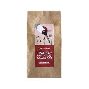 Tranbär & Vit Choklad Skorpor