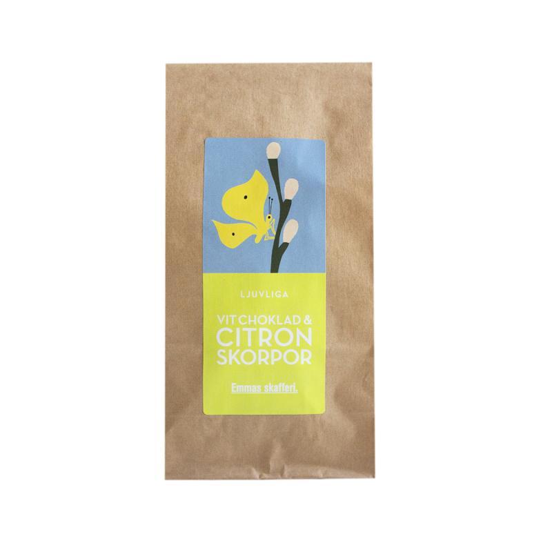 Vit Choklad & Citron Skorpor