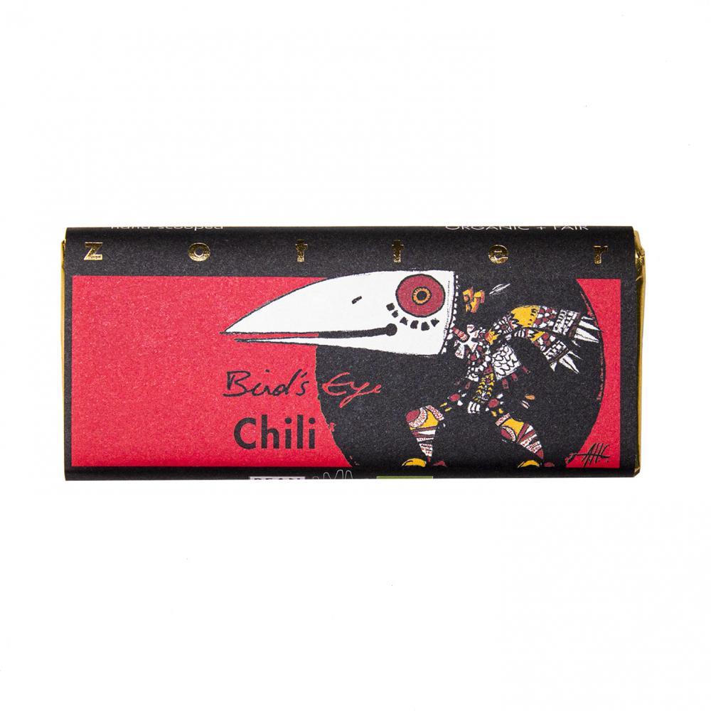 Chili Bird's Eye, pralinchokladkaka