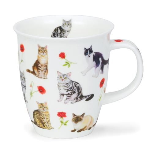 Nevis Flower Cats Red