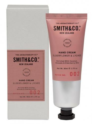 Smith & Co Hand Cream 80ml Elderflower & Lychee