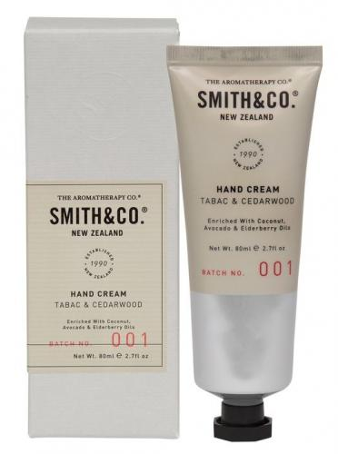 Smith & Co Hand Cream 80ml Tabac & Cedarwood
