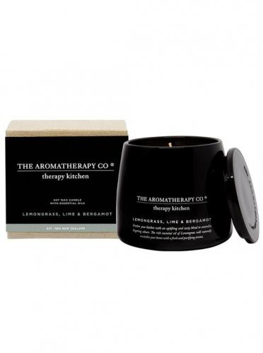 Therapy Kitchen Candle Lemongrass Lime & Bergamot 260g