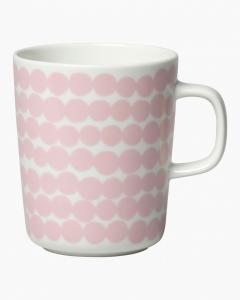 Marimekko Mugg 2,5 dl Siirtolapuutarha white pink