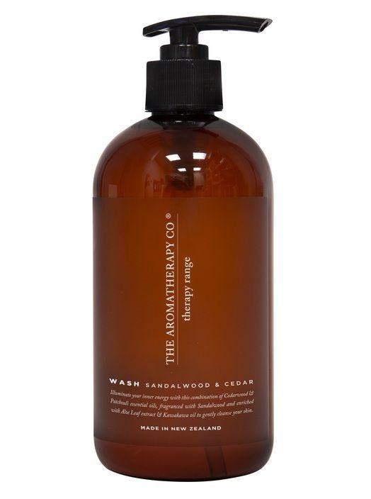 Therapy Hand & Body Wash Strength Sandalwood & Cedar 500ml