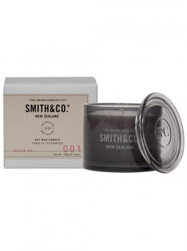 Smith & Co Scented 50tim Tabac & Cedarwood